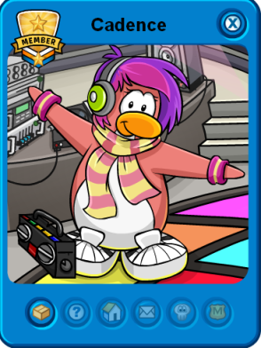 cadence player card